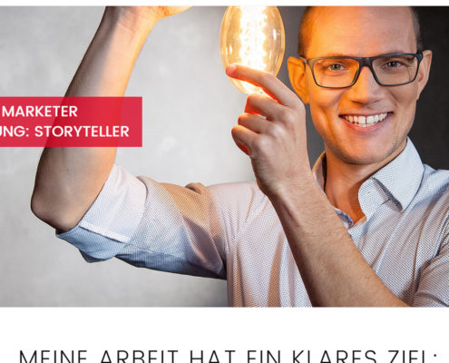 Vertriebspräsentationen von Marketer Steffen Moll