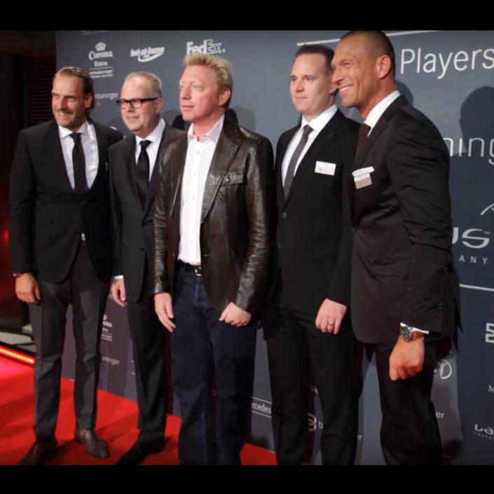 Laureus Siftung Schirmherr Boris Becker - Videoreportage