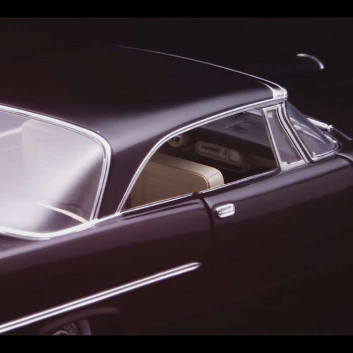 Modellauto 1957 CHRYSLER 300 C Replica Car