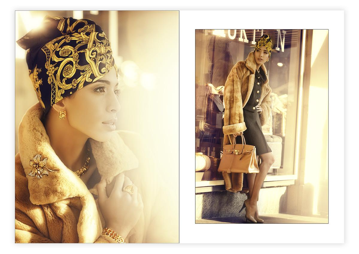 Modefotografie Eppli mit Zohre Esmaeli
