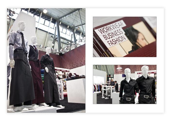 Messebilder für CG Workwear