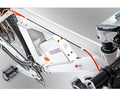 Produktfotografie im Studio für E-Bike Hersteller