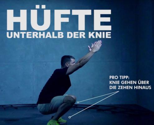 Anleitungsvideo für Sportgeräte und Übungen