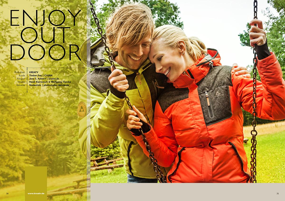 Outdoor Modefotografie Timberfox